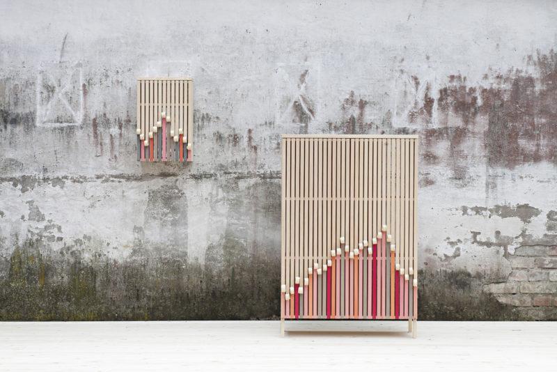 Whittle Away, las refrescantes unidades de almacenamiento de Stoft Studio © Ulrika Kestere