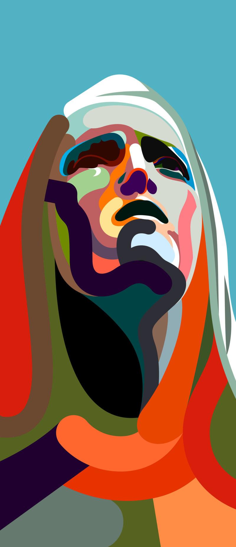 Color y abstracción en los robustos trazos de Magnus Voll Mathiassen