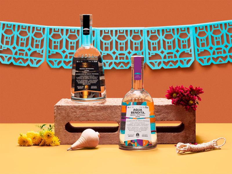 Futura desarrolla el branding de Agua Bendita. Diseño y mezcal mexicano