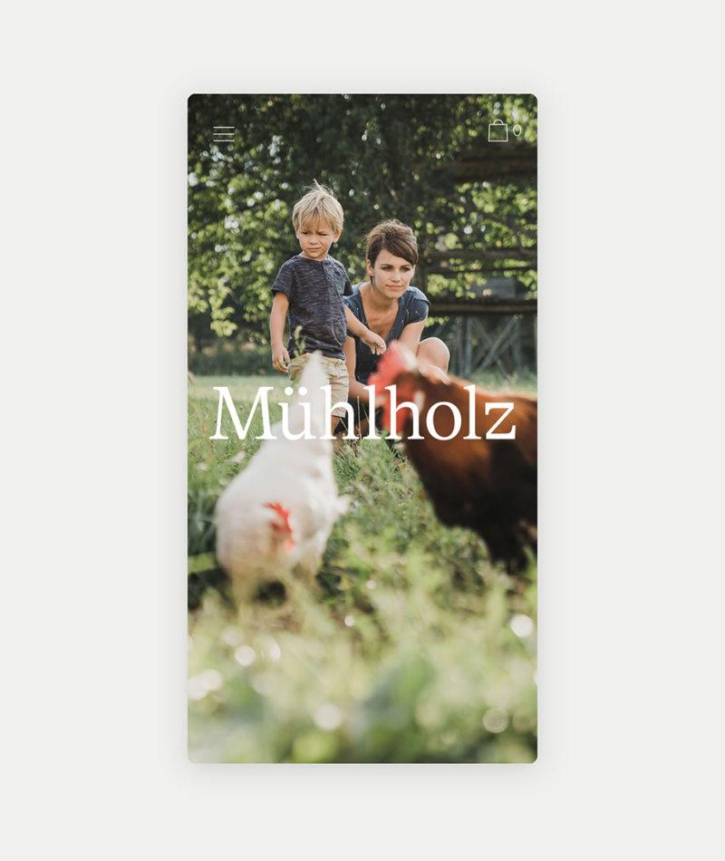 Gletscher diseña la identidad de Mühlholz