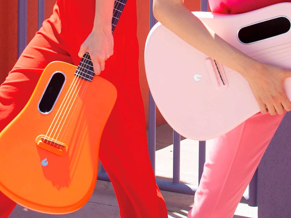 Lava Me, la guitarra acústica moldeada por inyección de Louiztein Luk