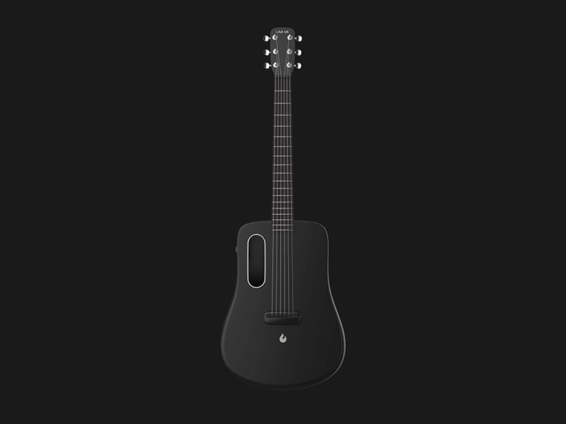 Lava Me: la guitarra acústica moldeada por inyección de Louiztein Luk