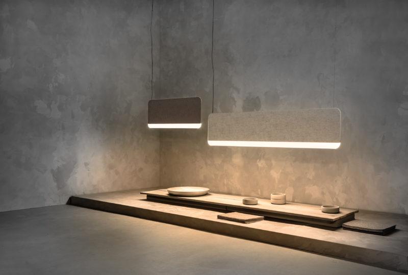 Lukas Peet diseña unas luminarias acústicas para ANDlight