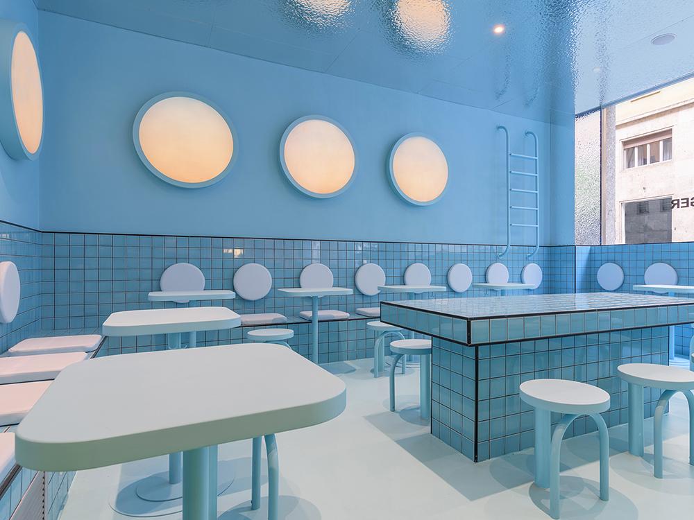Masquespacio firma un disruptor espacio gastronómico en Turín