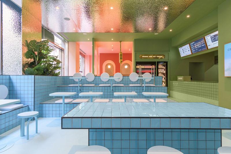 Masquespacio firma un disruptor espacio gastronómico en Turín © Gregory Abbate
