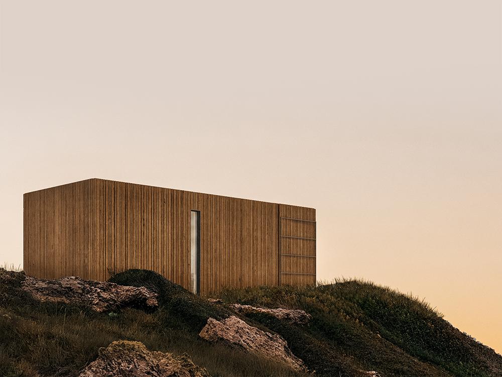 Liten, el refugio sostenible de Onarc. El diseño español apuesta por el turismo rural