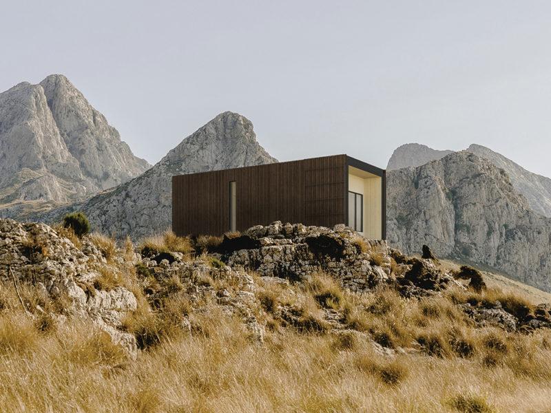 Onarc, el refugio sostenible de Liten. El diseño español apuesta por el turismo rural