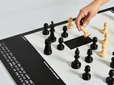 Schackbräde, el ajedrez según Fagerström. Una serie de pósteres impecable