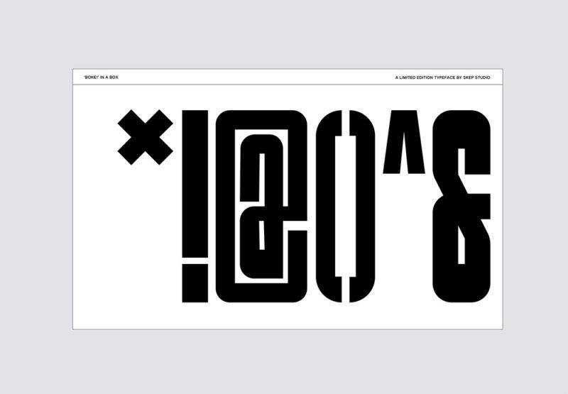 Skep presenta Boke! Mucho más que una tipografía