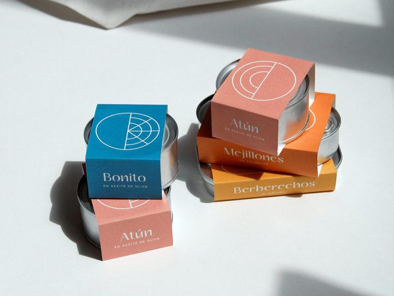 Son Sardina, el packaging de conservas de Barceló Estudio