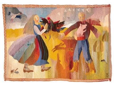 Tradición y Modernidad - Arte textil de Letonia