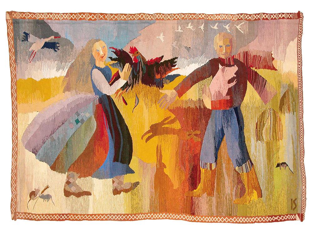 Diseño textil letón en el Museo Nacional de Artes Decorativas