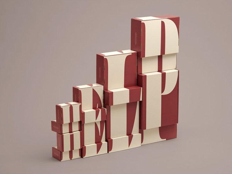 Las cajas de cartón para embalar de Jens Nilsson © Bild Gates