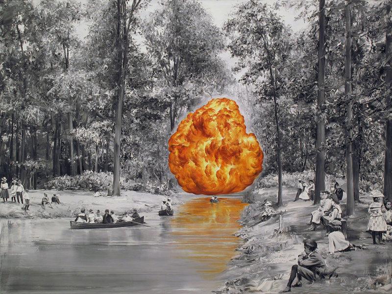 Las fotografías al óleo de Paco Pomet. De Granada al mundo