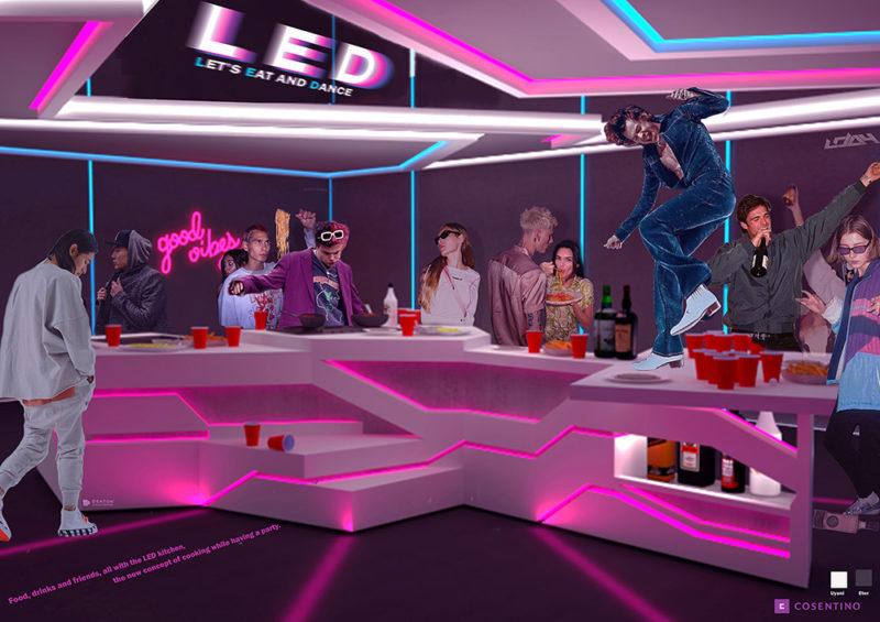LED- Let´s Eat and Dance, de Marina Tovar Fukuoka (ESNE)