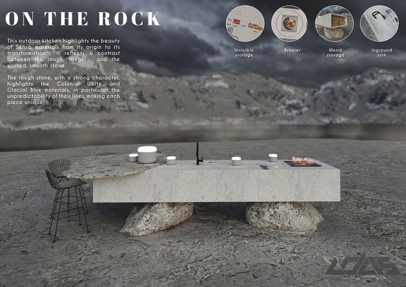 On the Rock, de Manon Capel (ESAM Design)