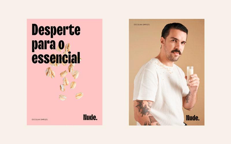 Rebu diseña el packaging de Nude. Avena sin huella de carbono