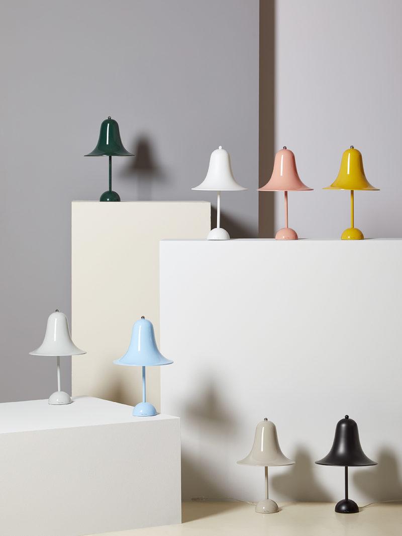 Verpan reedita Pantop, la famosa lámpara de Verner Panton