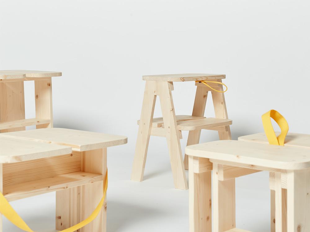 WooSeok Lee diseña una colección de mobiliario para estancias cortas