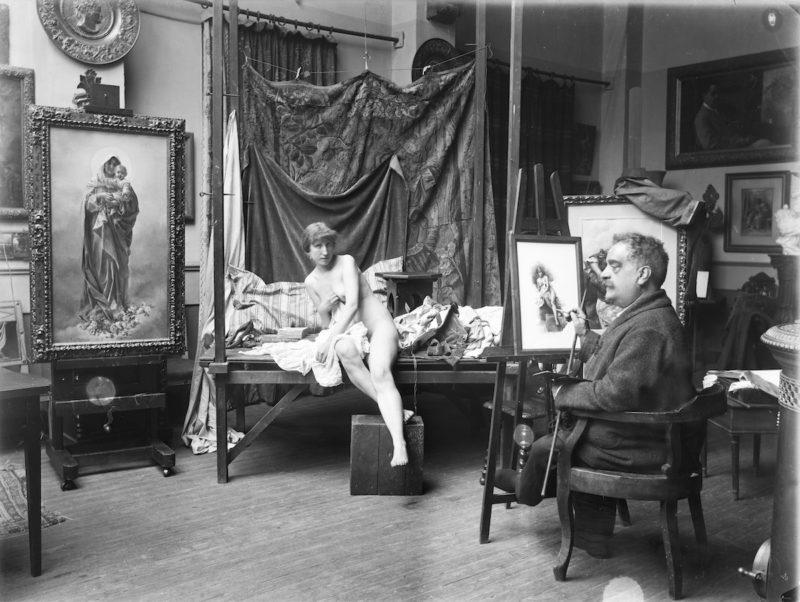 El taller del artista. Una mirada desde los archivos fotográficos del Instituto de Patrimonio Cultural de España