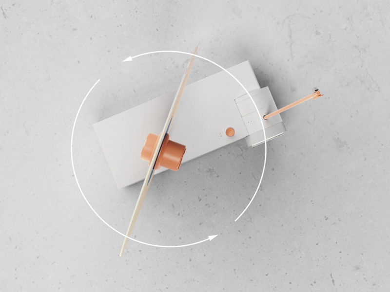 Flip o Flip: el tocadiscos de Juwon Kim. Lo mejor de dos mundos