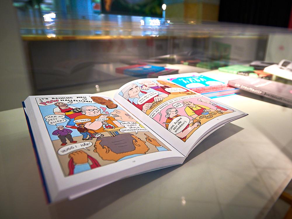 Las mujeres en el cómic sueco: diseño, ilustración y arte en CentroCentro