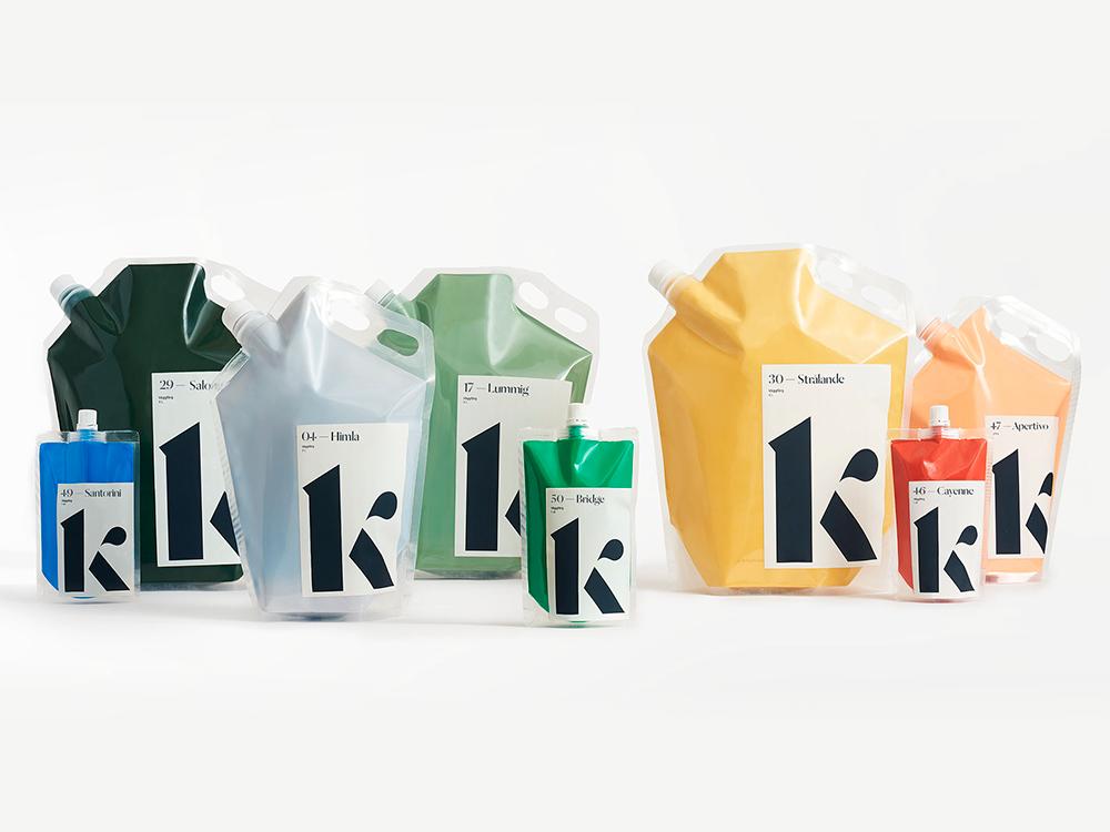 Ville Oké desarrolla la identidad de Klint. Color, color y más color