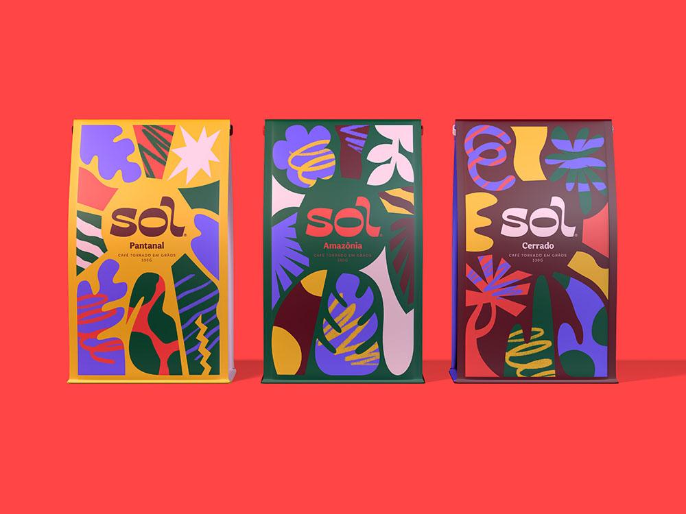 Con Sol, Lilia Quinaud homenajea a Brasil. Color y café