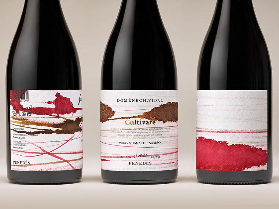 Cultivare: la brutal gráfica de vinos de Ladyssenyadora. Creatividad con DO