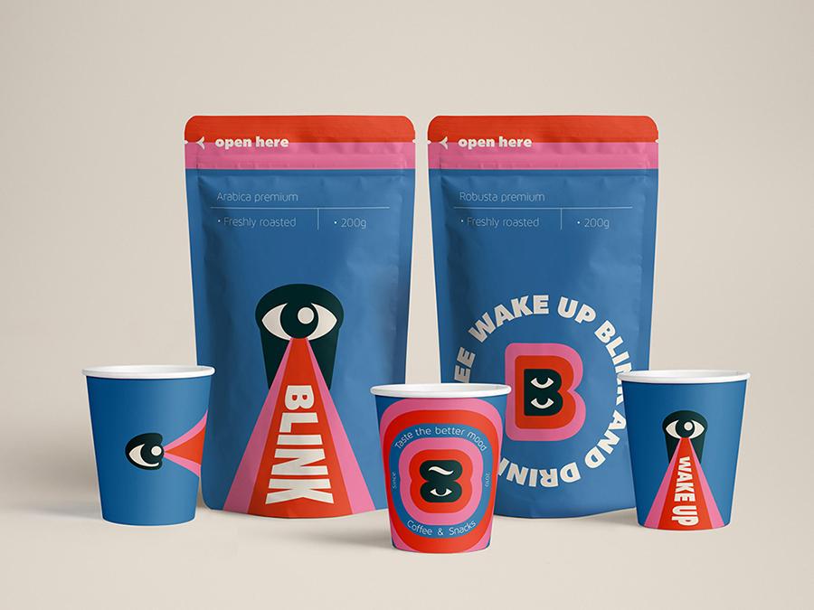 Blink, el packaging millennial de Ana Miminoshvili. Guiño al diseño georgiano