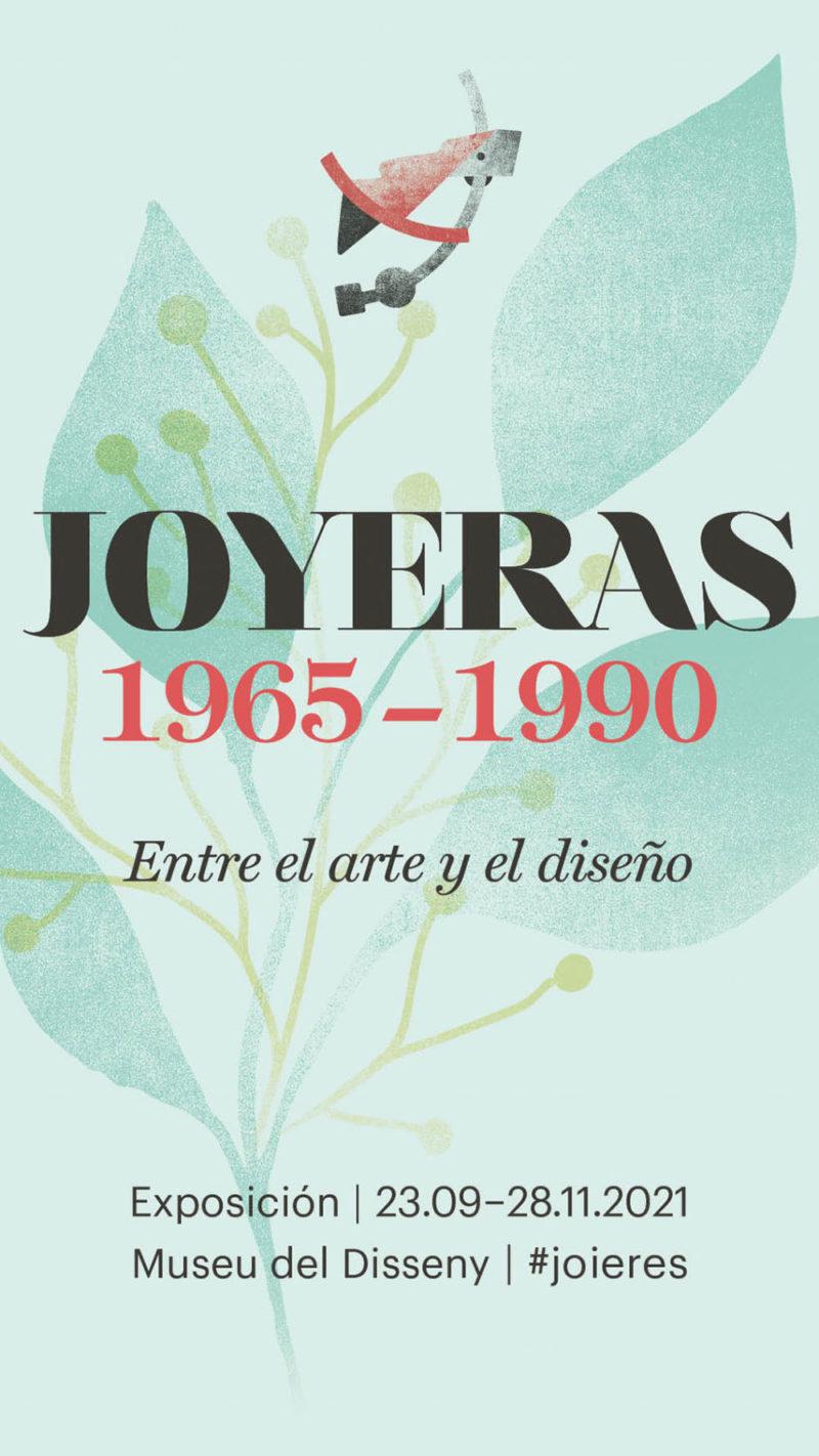El Museo del Diseño de Barcelona presenta: Joyeras 1965-1990. Entre el arte y el diseño