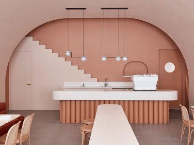 Biasol se inspira en la obra de Wes Anderson para el diseño de un espacio gastronomico
