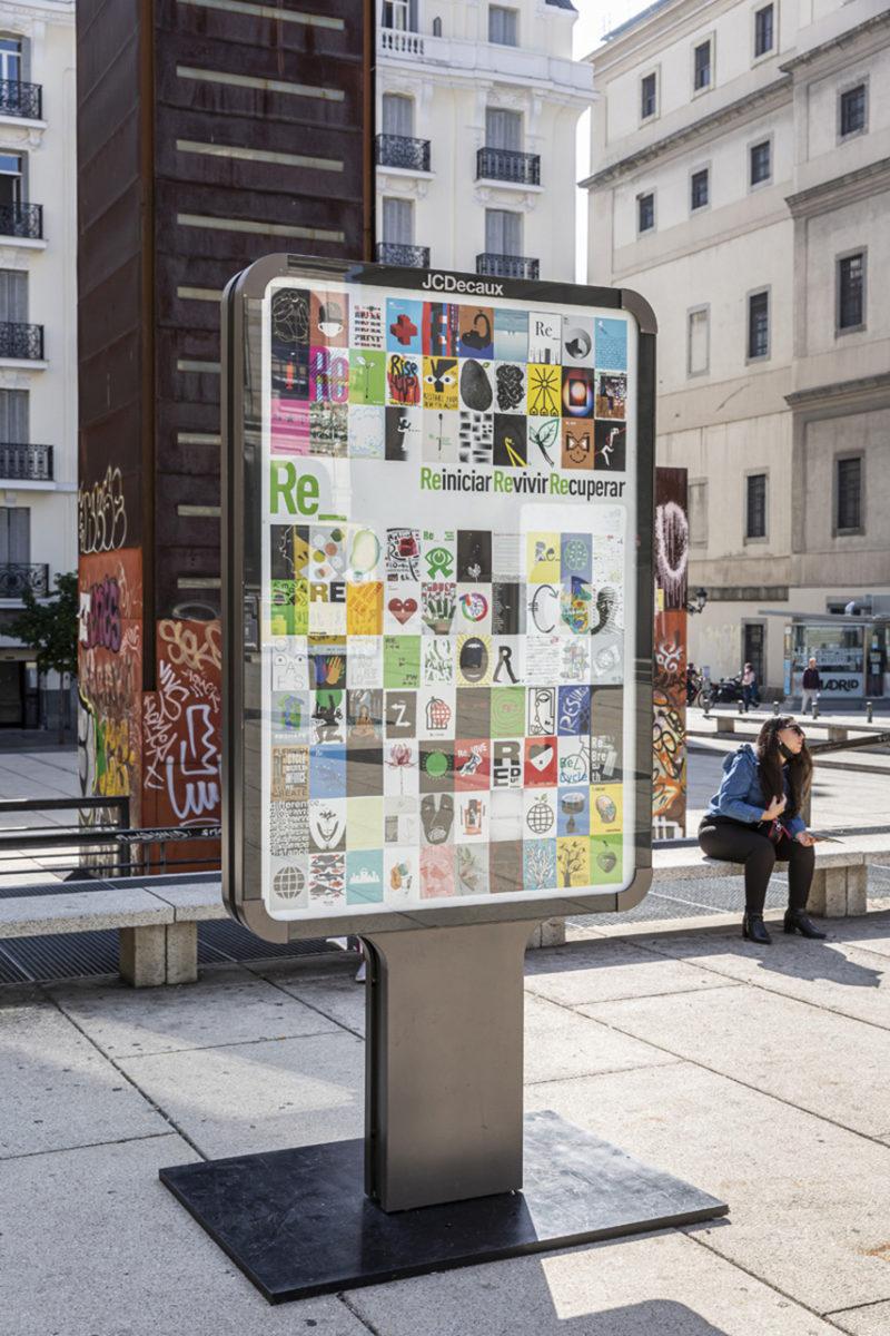 La gran exposición de carteles de Madrid Gráfica 2021 ha dado comienzo