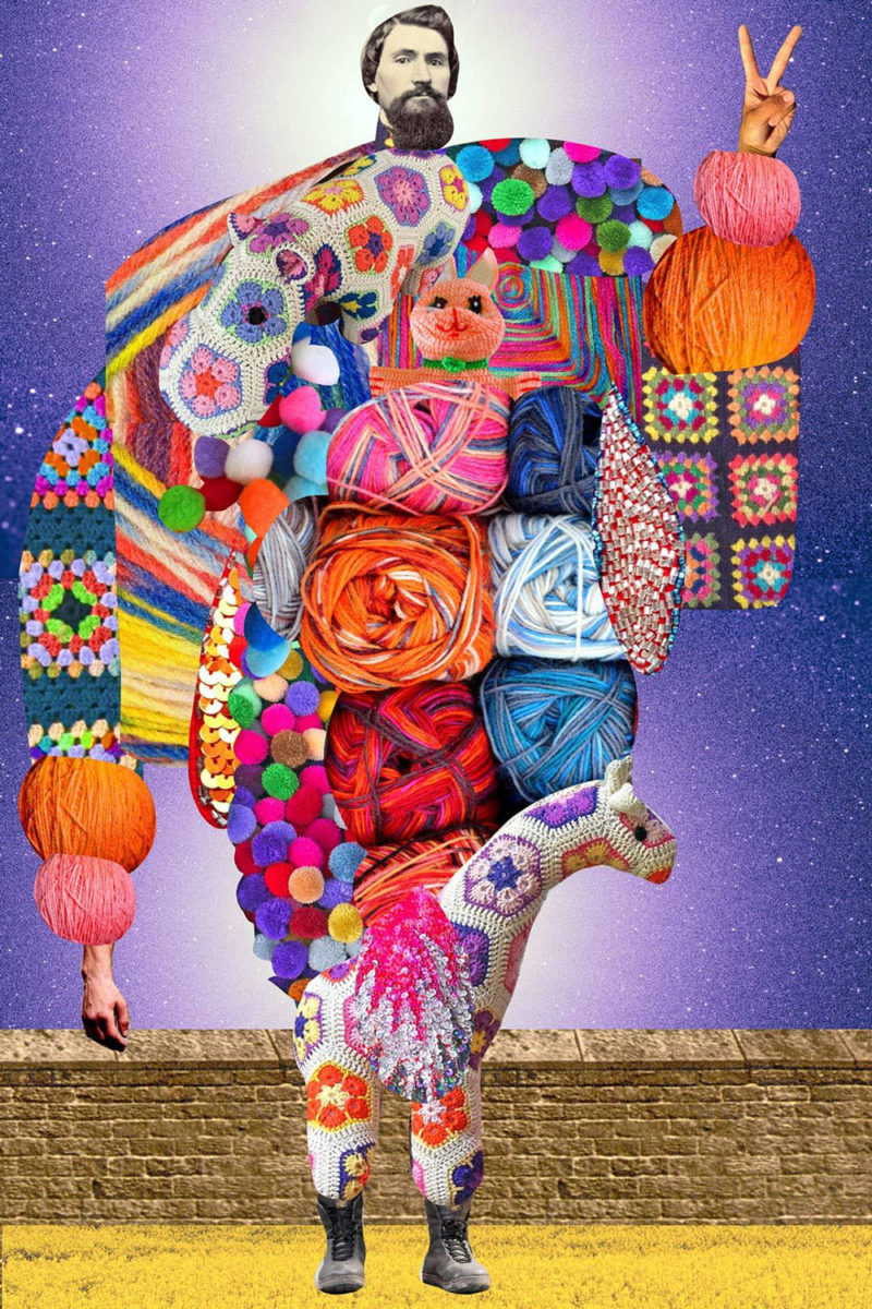 Los divos de Johanna Goodman. Collage, abstracción y drama